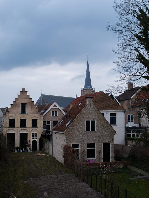 Oude huisjes in Franeker