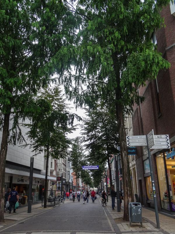 Winkelstraat in Heerlen.