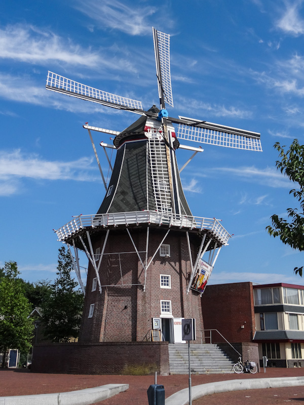 Molen in Delfzijl.