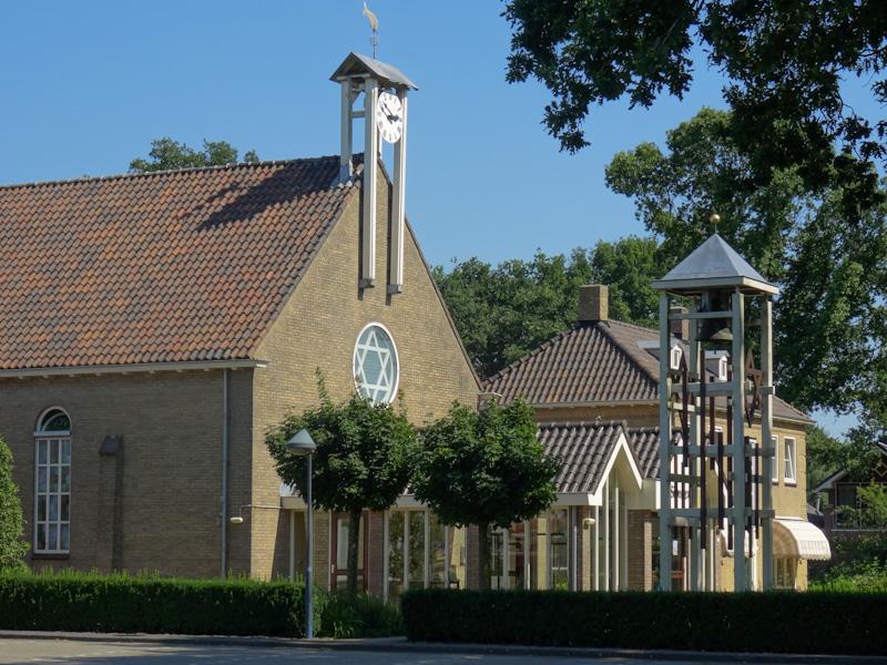 Het enige monument in Mariënberg , de Zionkerk.