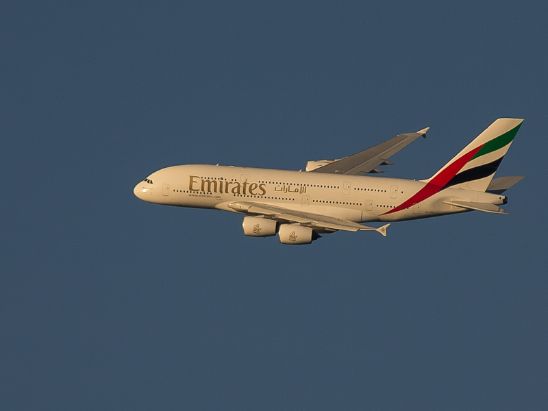 airbus a-380 in vlucht